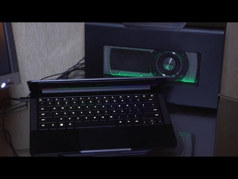 One cable is all you need to turn this Razer laptop into a gaming beast