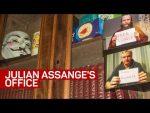 Step Inside Julian Assange's Office