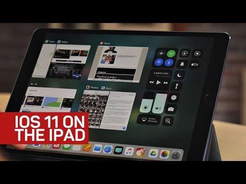 iOS 11 transforms the iPad