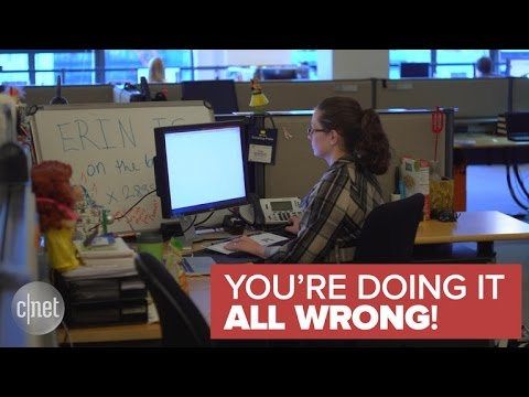 The best way to make sitting at your desk all day suck less (You're Doing It All Wrong!)