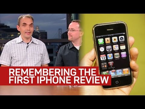 The Fun and Frenzy of Reviewing the First iPhone