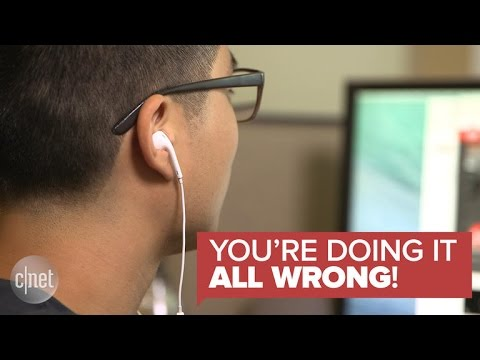 The inconvenient truth about wearing earbuds (You're Doing It All Wrong!)