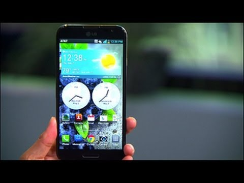 The LG Optimus G Pro comes to the U.S. on AT&T