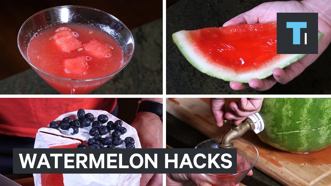 4 watermelon hacks that will impress your friends this summer