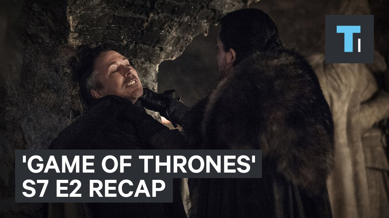 """7 details you might have missed on season 7 episode 2 of """"Game of Thrones"""""""