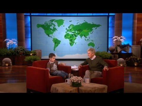 Adorable 4-Year-Old Geography Expert