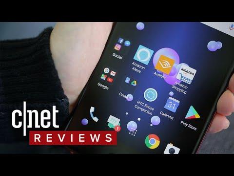 Amazon Alexa on the HTC U11