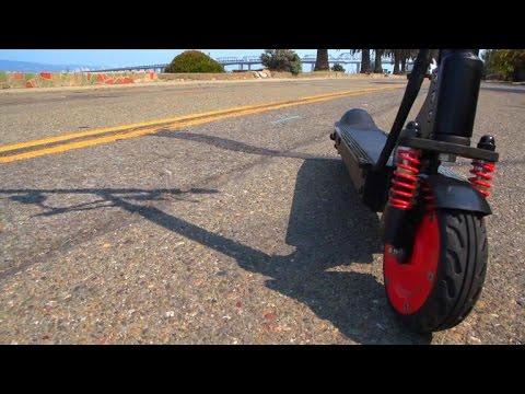 Car Tech – M3 E-Scooter: Folding electric transportation