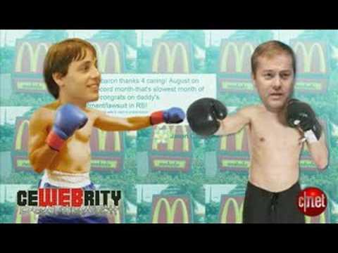 CNET: Buzz Report: Introducing Cewebrity Death Match