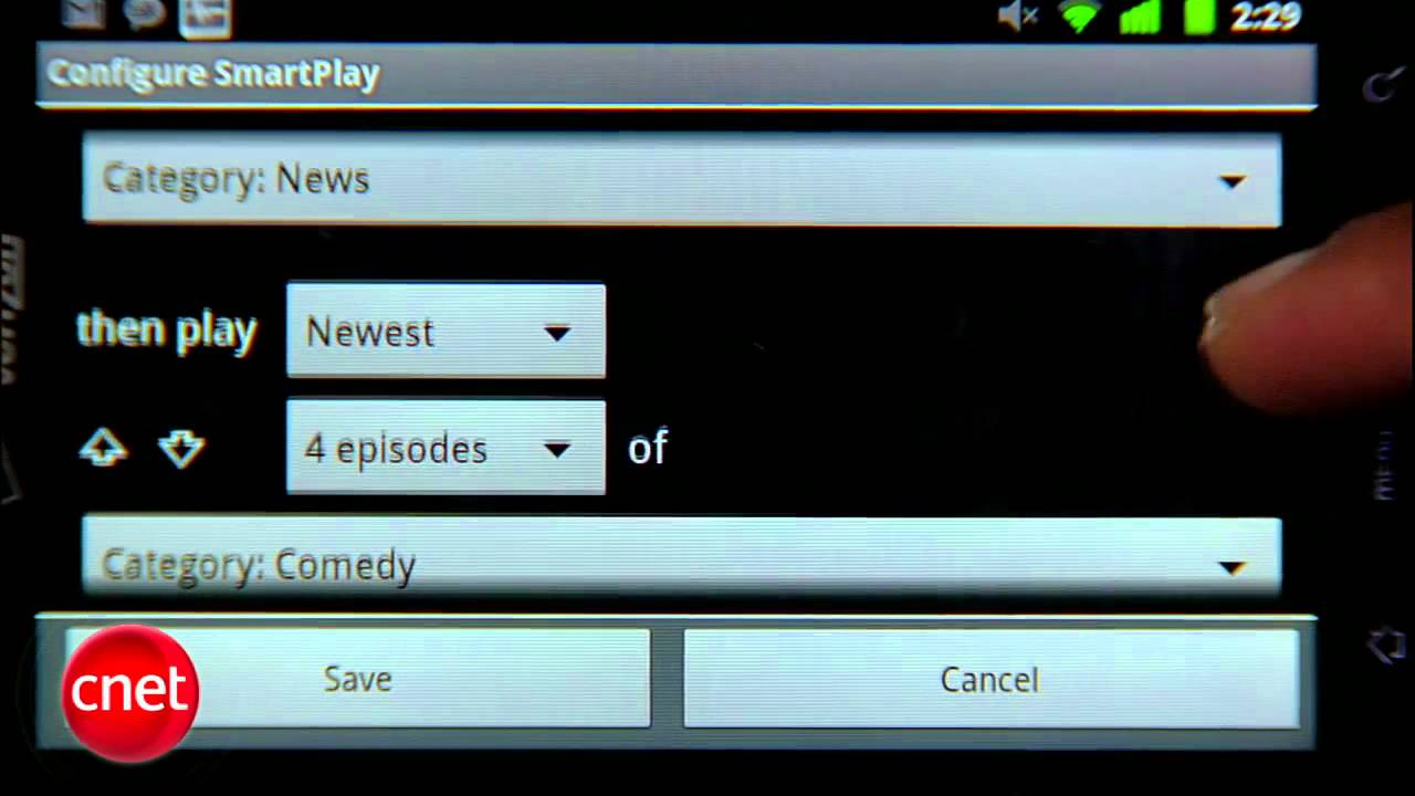 CNET Tap That App: Podcatcher apps for Android users