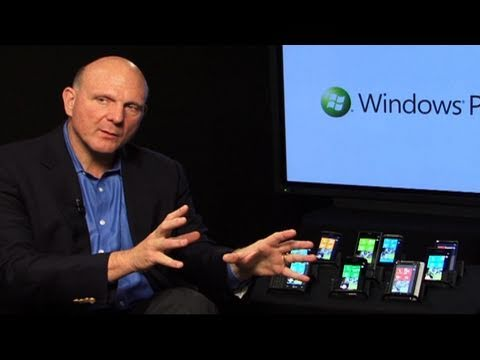 CNET Tech Review: Steve Ballmer in Windows Phone heaven