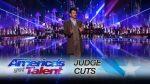 Colin Cloud: Mind Reader Amazes Mel B and Howie Mandel - America's Got Talent 2017