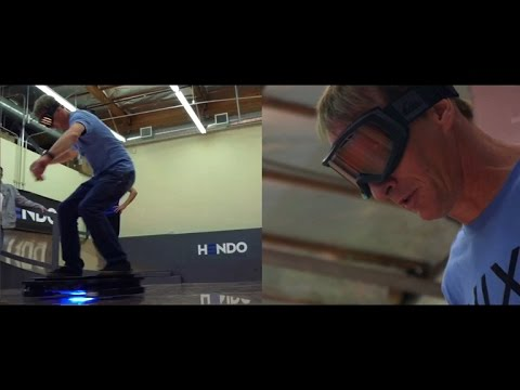 Crave – Watch Tony Hawk do endless 360s on a hoverboard, Ep. 184