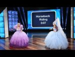 Ellen and Drew Barrymore's Giant, Royal Game of 'Heads Up!'