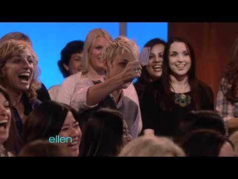Ellen Meets Her Twin!