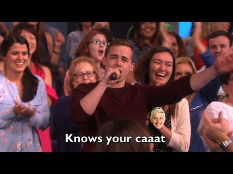 Ellen's Audience Sings 'Only Girl in the World'