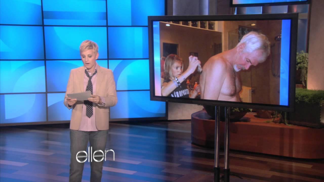 Ellen's Been on Your Facebook Page!