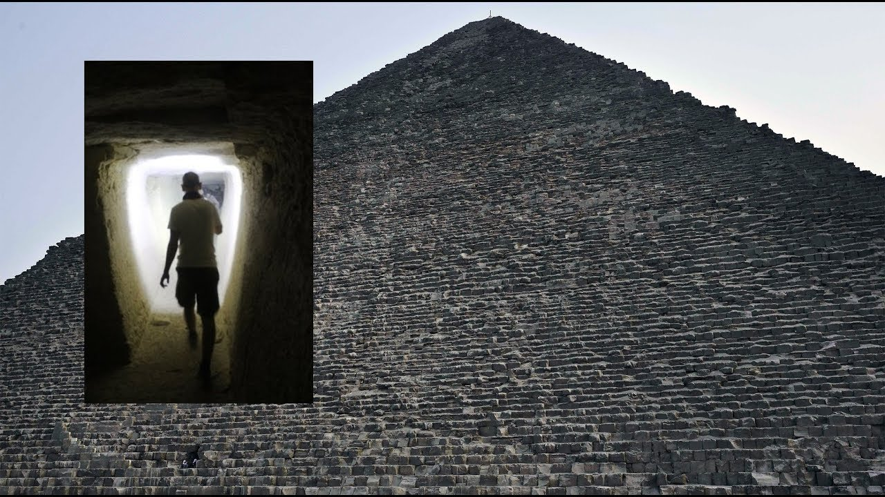 Hibernating Alien Discovered Inside Secret Chamber in The Great Pyramid