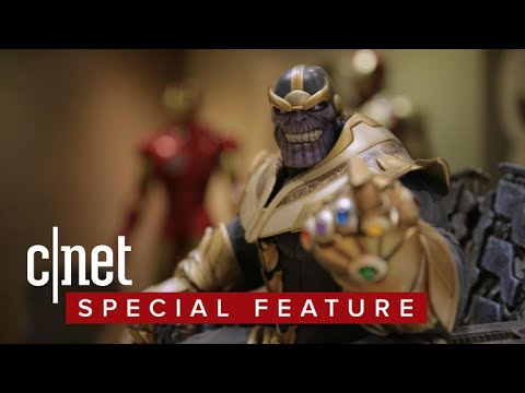 How Sideshow created its epic Thanos on Throne Maquette