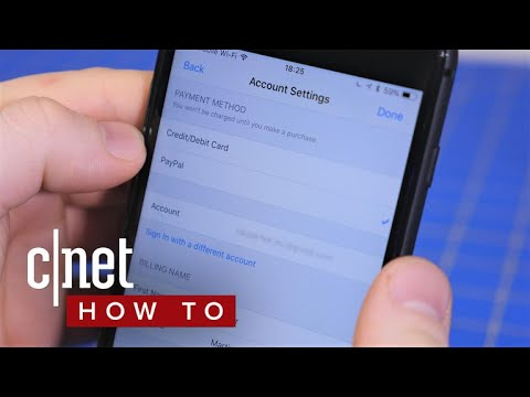How to use PayPal in the iOS App Store (CNET How To)