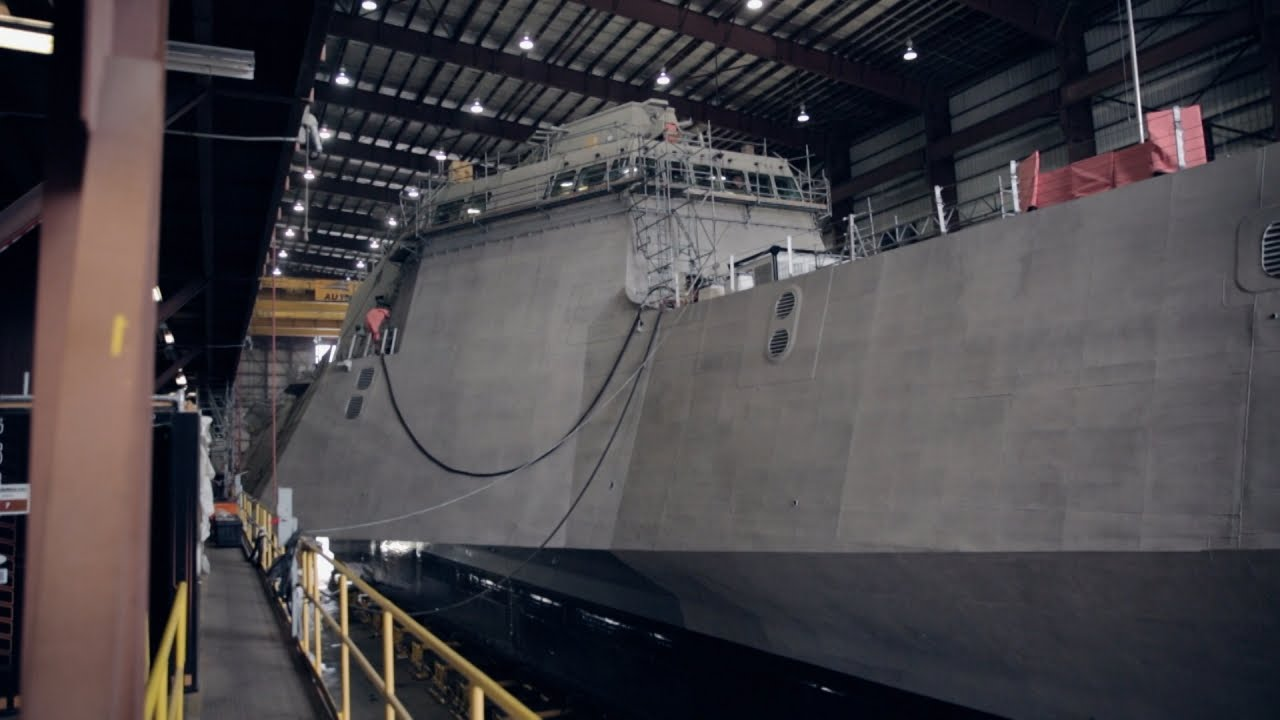 Inspired By Outrigger Canoes, This Is The US Navy's Trimaran Combat Ship