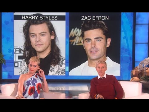 """Katy Perry Plays """"Who Would You Rather?"""" on Ellen 2017"""