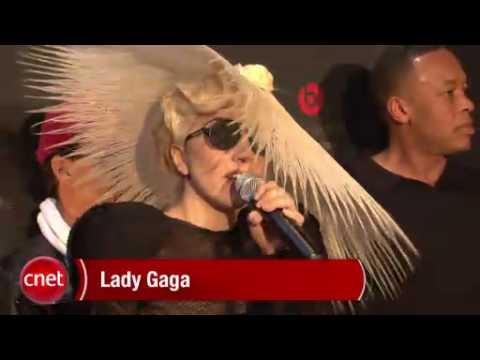 Lady Gaga at CES 2010