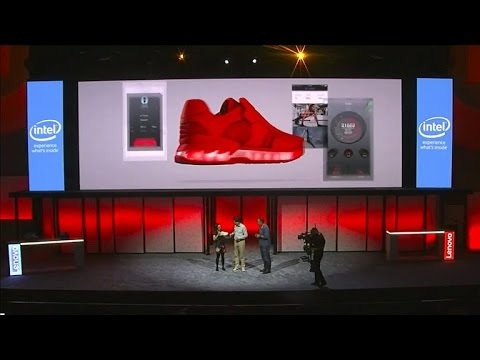 Lenovo sneak peeks smart shoe (CNET News)