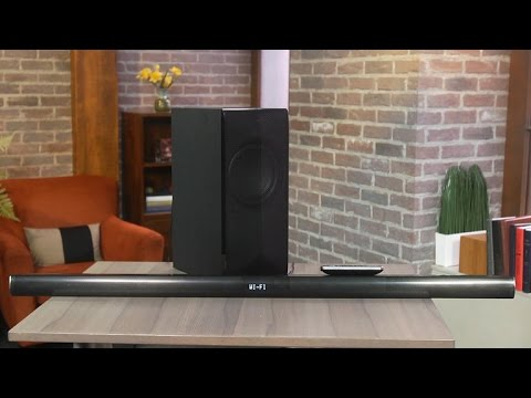 LG's connected sound bar impresses