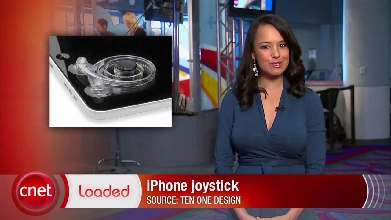 Loaded: iPad joystick at CES 2011