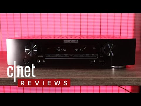 Marantz's NR1508 AV receiver is big on features, small on size