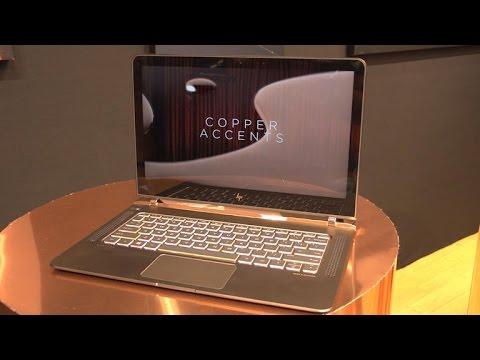 Meet the world's thinnest laptop, the HP Spectre