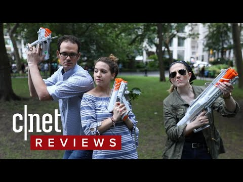 Move Over, Nerf: Laser Tag is Back