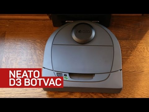 Neato's D3 robot vacuum is very affordable yet app-connected