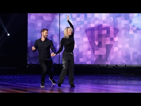 Nick the Bachelor and 'DWTS' Partner Peta Perform!