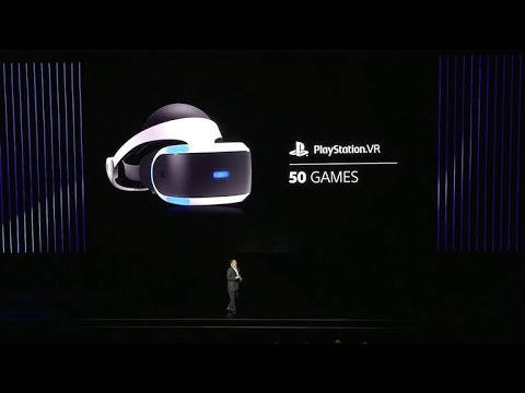 PlayStation VR release date set for October 13, 2016 (CNET News)
