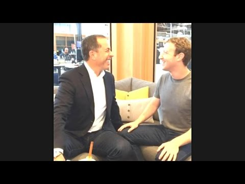 Seinfeld asks Zuckerberg what's the first thing Zuck does in the morning?