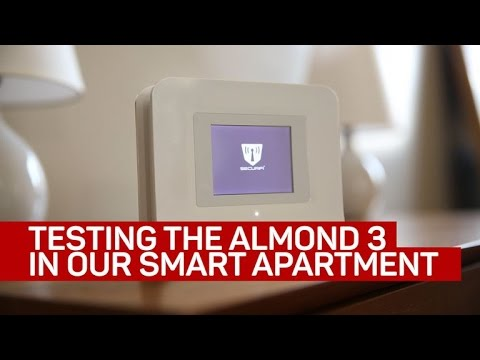 Testing the Almond 3 smart router in the CNET Smart Apartment