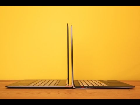 The slimmest laptops of 2016
