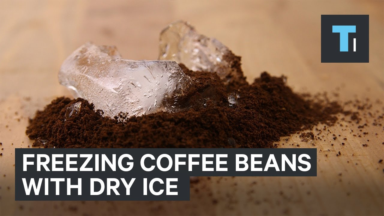 The top coffee server in US puts his beans through a deep freeze