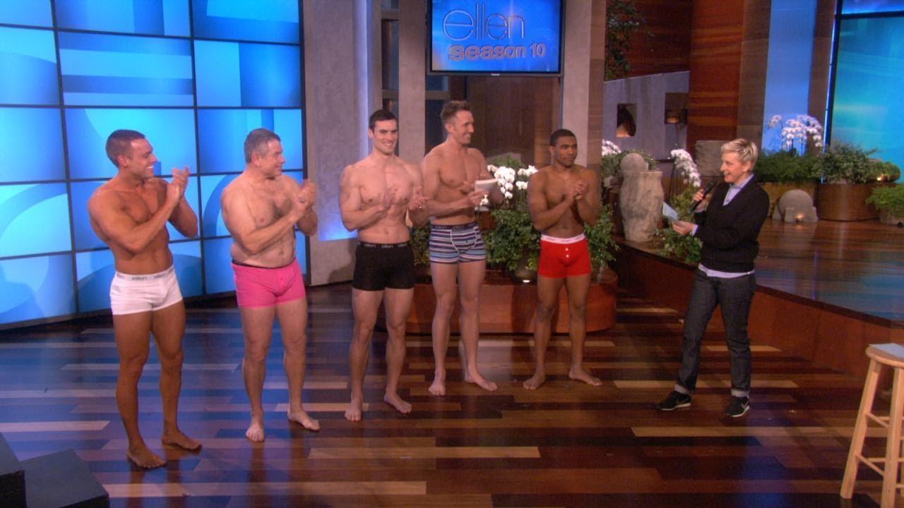The Underwear Model Finale Catwalk!