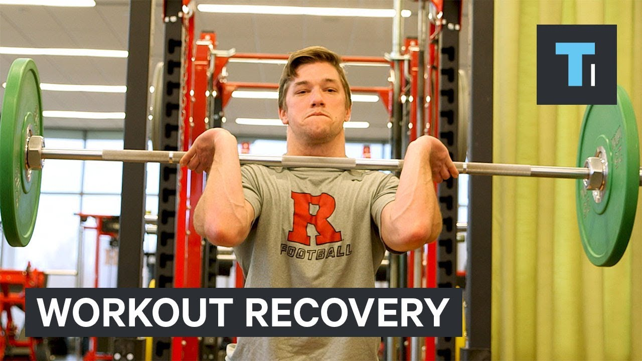 A physical therapist explains how to recover from a tough workout