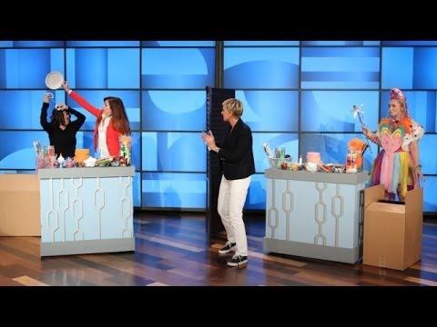 Alyson Hannigan and Ellen's Costume Showdown