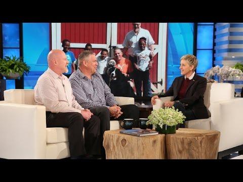 An Exceptional Pair of Parents Meets Ellen