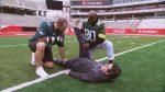 Andy and Jon Dorenbos at the Super Bowl!