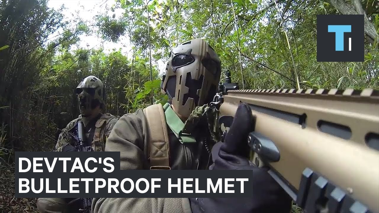 British special forces are testing out a bulletproof combat helmet that looks like Boba Fett's