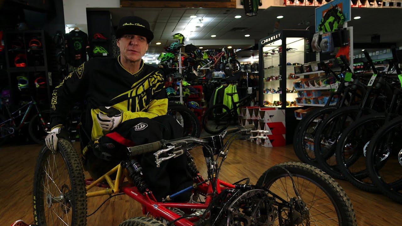 Check Out This Man's Home-Hacked Paraplegic Mountain Bike