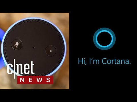 Cortana and Alexa team up, will talk to each other (CNET News)