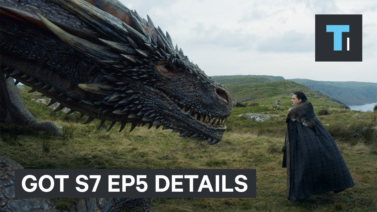 """Details you missed on season 7 episode 5 of """"Game of Thrones"""""""