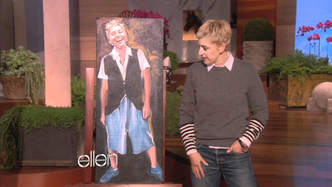 Ellen and the Ellen Art Show